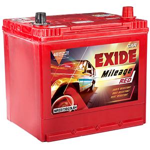 Exide Battery for Corolla Altis Diesel Exide Battery Best Price