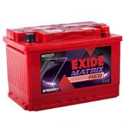 Exide MTREDDIN74 (DIN74) 74 AH 66 Months Warranty